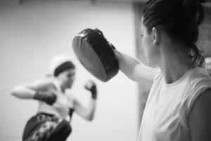 Taekwondo-Selbstverteidigung für Frauen